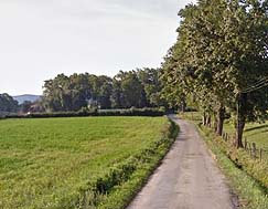bicycle path close to castres