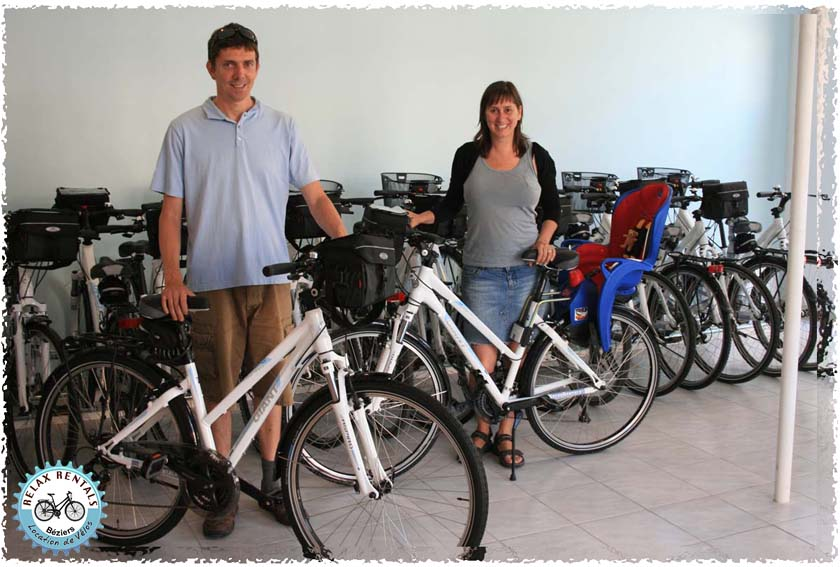 owners of relax bike tours beziers