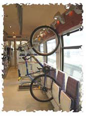 bike inside french train